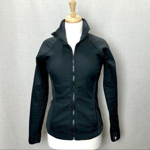 NIKE FIT THERMA Full Zip Quilted Fleece Jacket